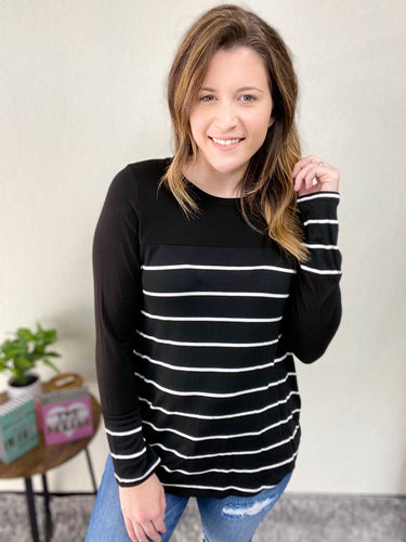 WINNING IN STRIPES LONG SLEEVE