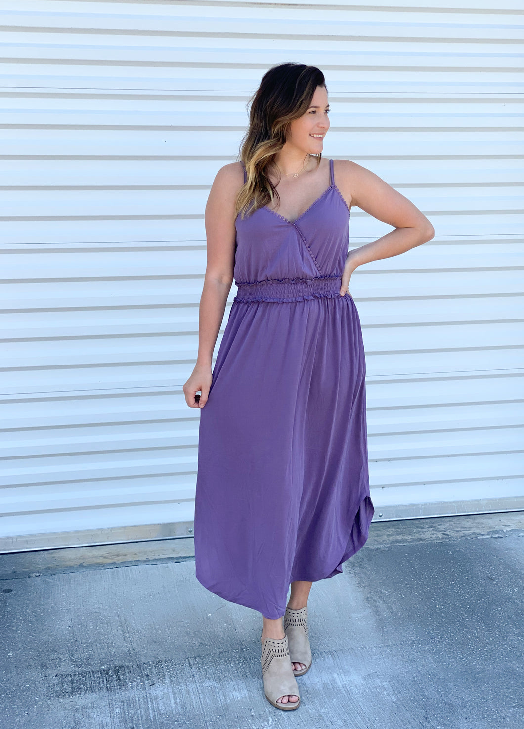 DELILAH MAXI DRESS