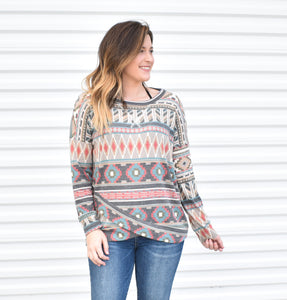 AZTEC CROSSOVER LONG SLEEVE