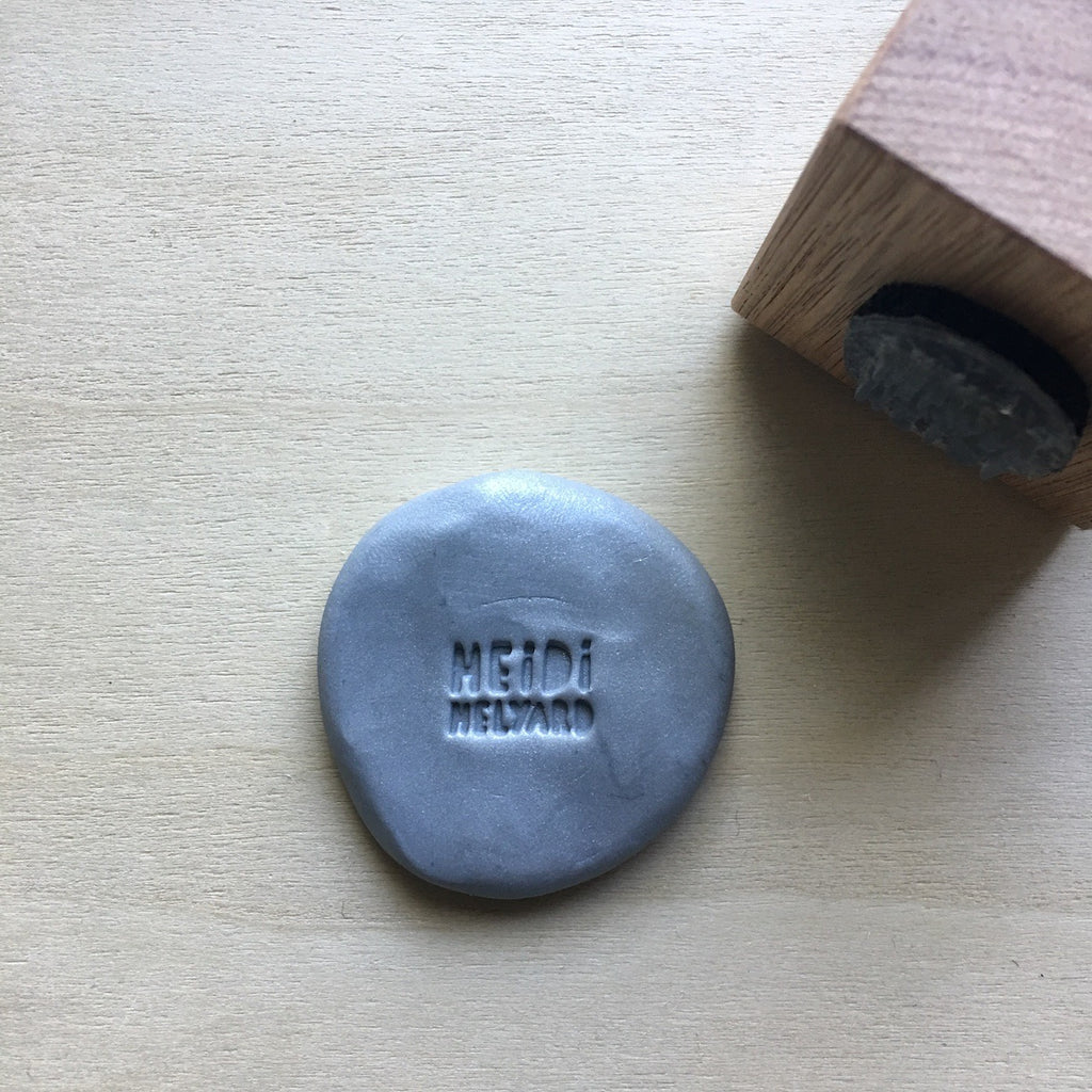 stamp for polymer clay