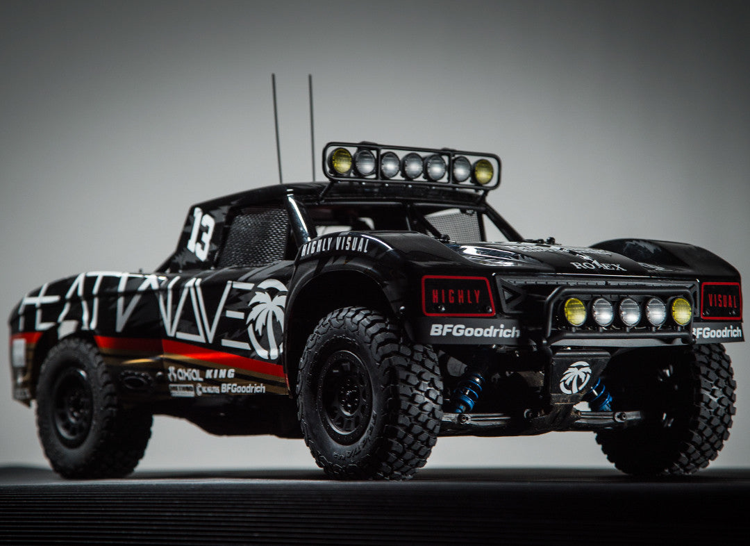 The Highly Visual Axial Yeti Trophy Truck Heat Wave Visual