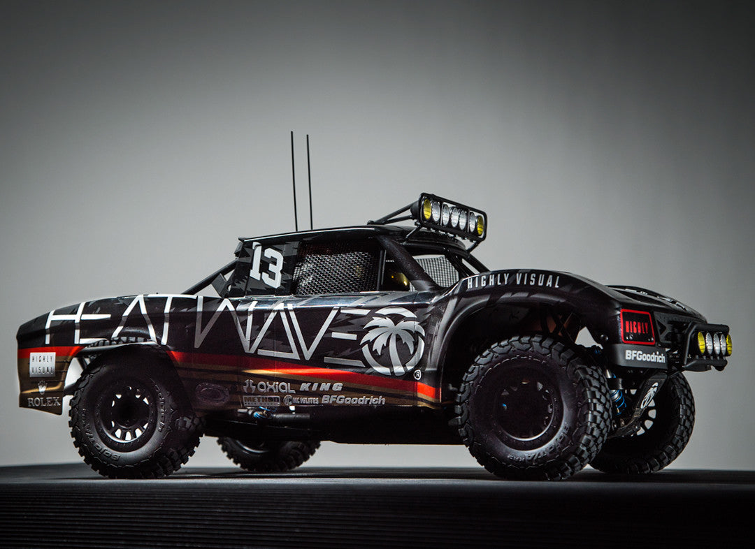 Heat Wave Visual Trophy Truck
