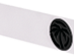 White with Black emblem