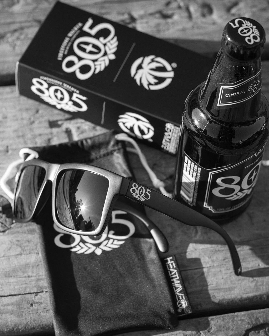 805 beer sunglasses Heat Wave Visual