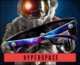 Hyper Space custom sunglasses