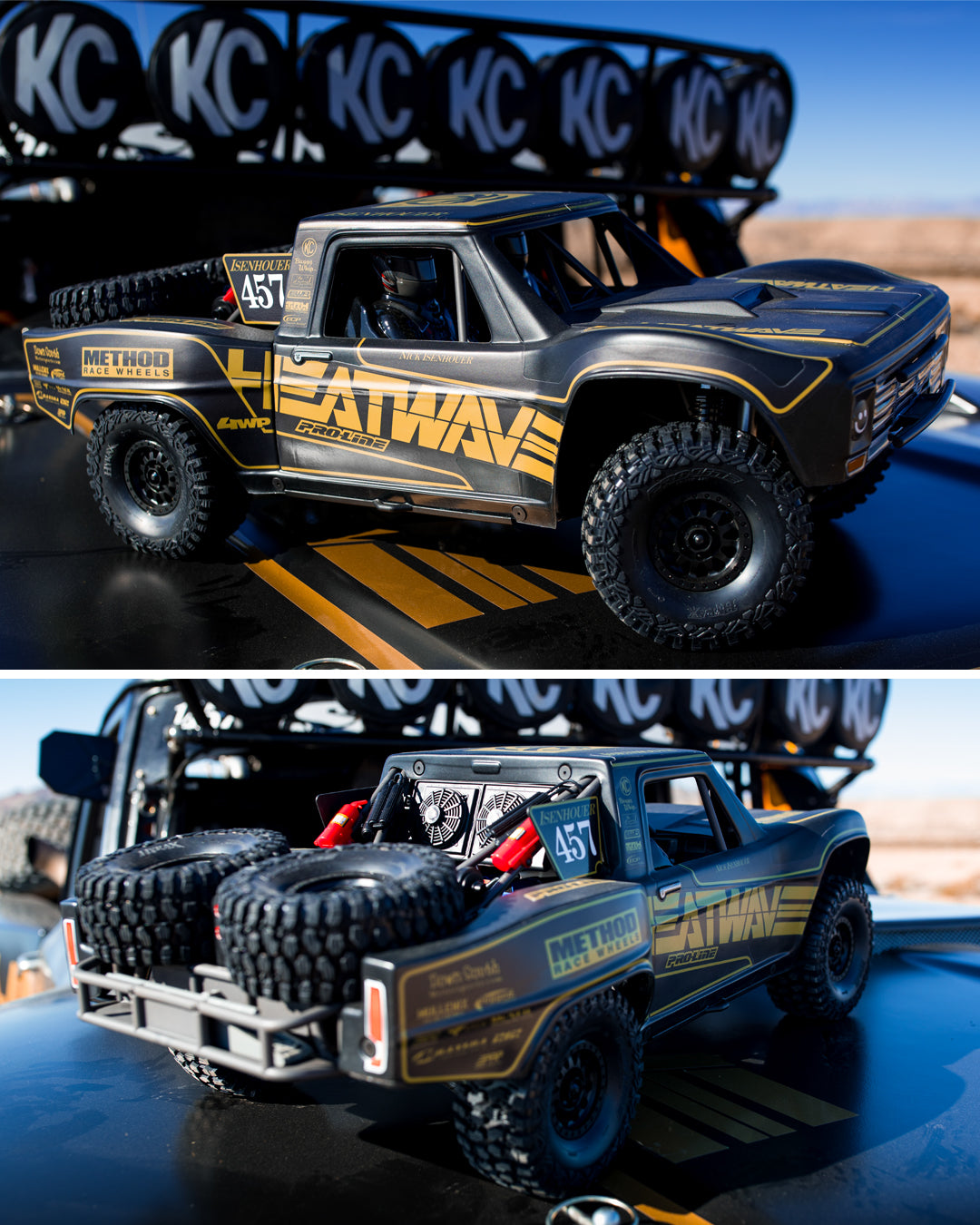 Heat Wave RC car