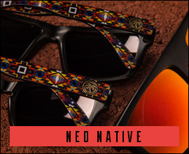 Neo Native Pattern Sunglasses