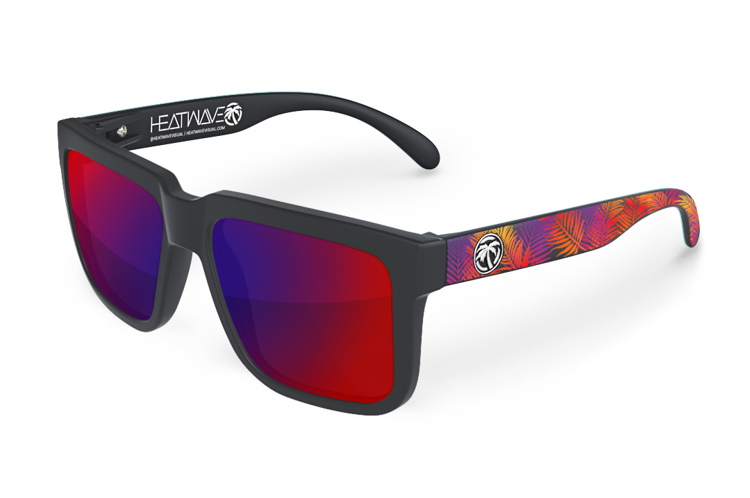 Avenue Sunglasses: Neon Palm Customs
