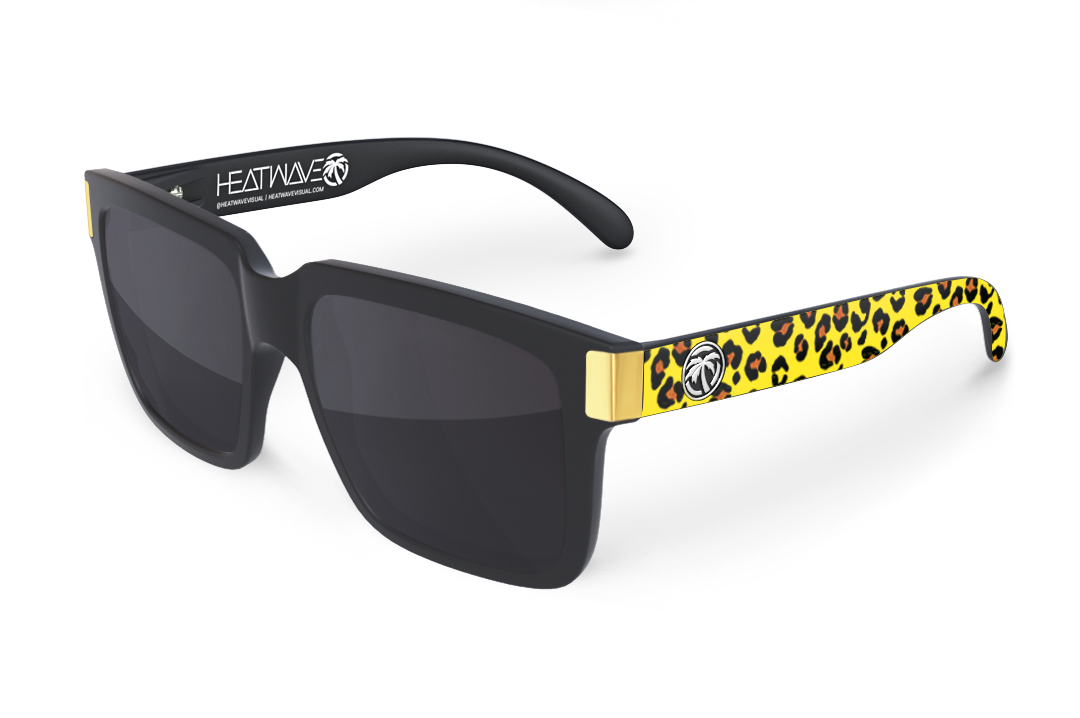 Continental Sunglasses Gold: Cheetah Customs