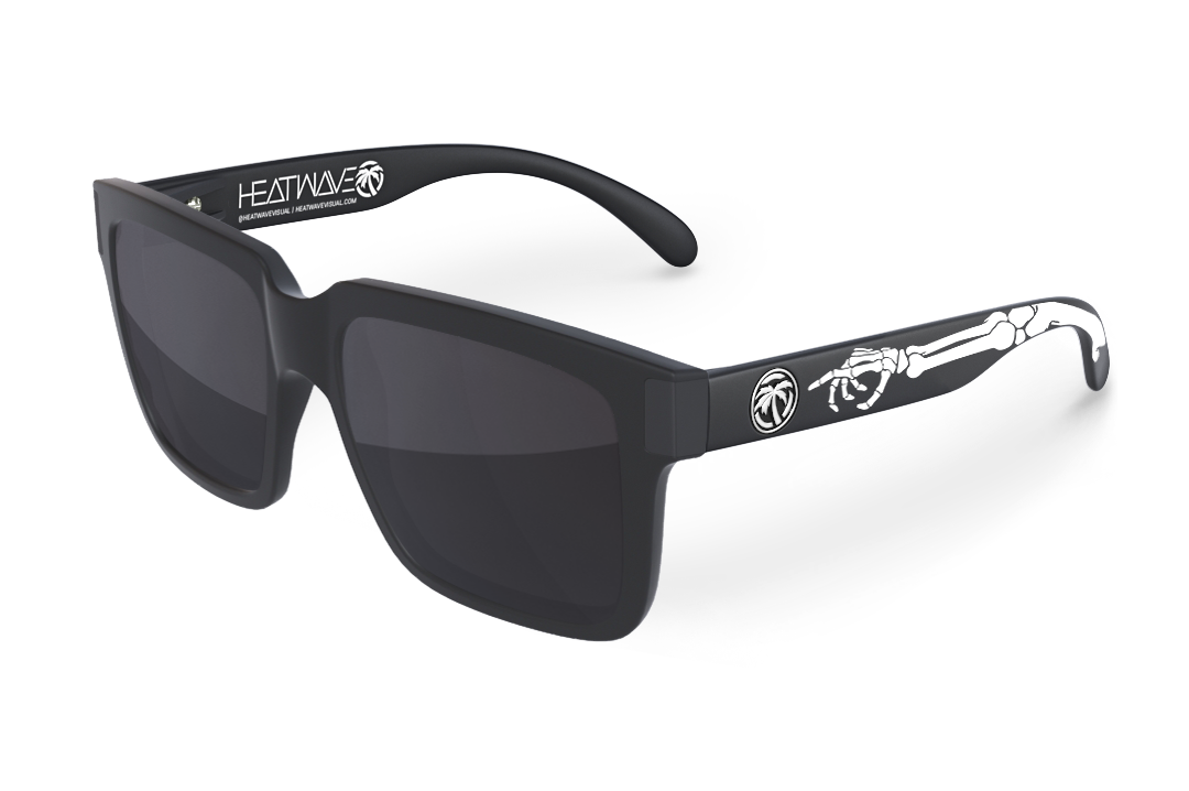 Continental Sunglasses Black : Bones Customs