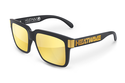 Continental Sunglasses Gold: Gold Billboard Customs