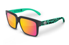 Continental Sunglasses Black: Aqua Hydroshock Customs