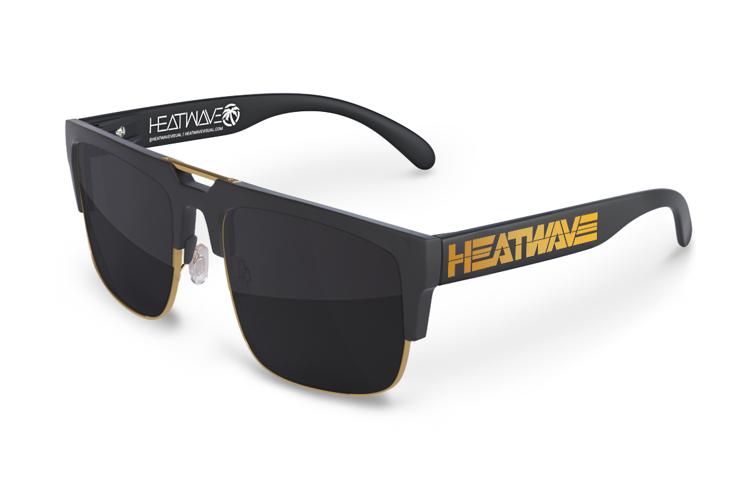 Interceptor 2.0 Sunglasses Gold: Gold Billboard Customs