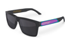 VISE Sunglasses: Neon Chrome Metal Customs