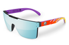 Quatro Sunglasses: Purple Waverunner Customs