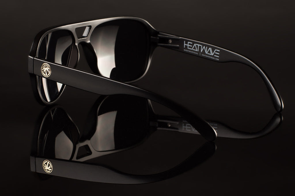 Heat Wave Visual black Supercat sunglasses