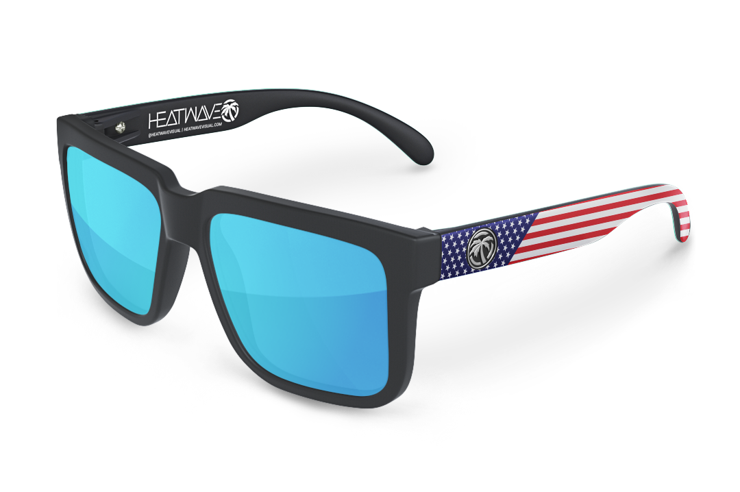 Avenue Sunglasses: Stars & Stripes Customs