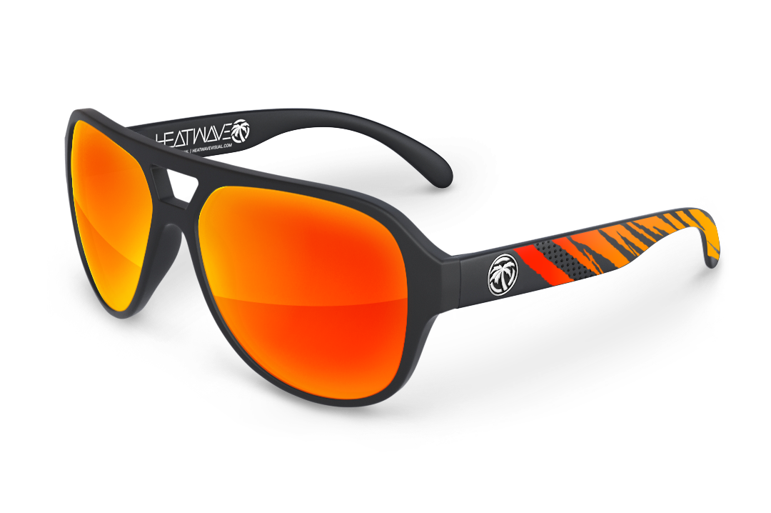 Supercat Sunglasses: Black Fireblade Customs
