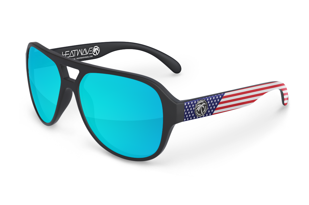 Supercat Sunglasses: Stars & Stripes USA Customs