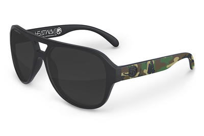 Supercat Sunglasses: Woodland Camo Customs