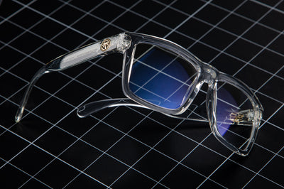 VISE Sunglasses: Vapor Clear Blue Blocking Setup
