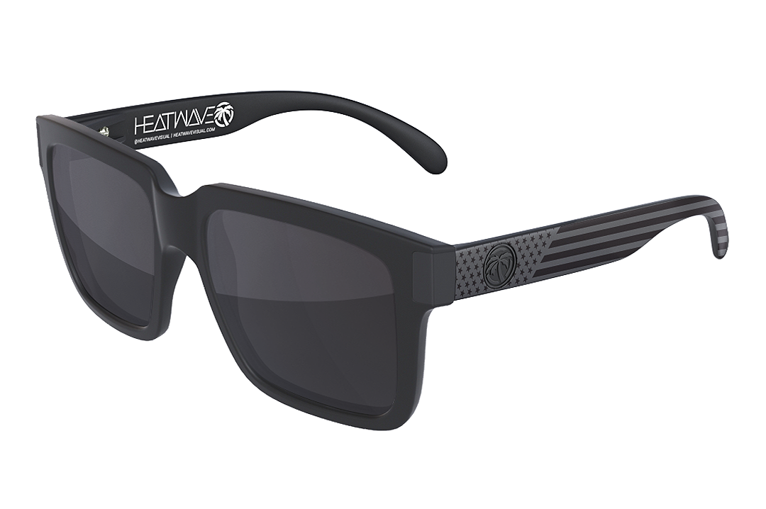 Continental Sunglasses Black: Stars and Stripes SOCOM Customs