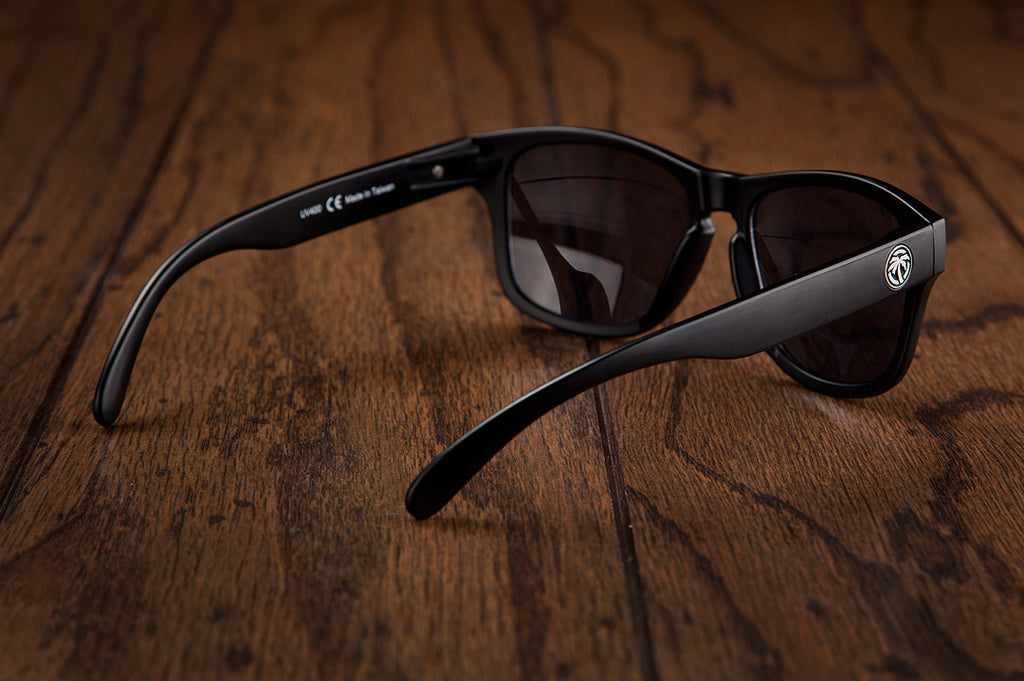 Heat Wave Visual Black Cruiser Sunglasses