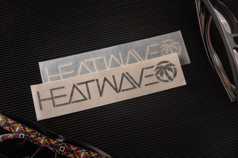 Heat Wave Spell Out Decal