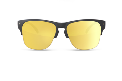 Roswell Sunglasses Gold: Firebird Customs