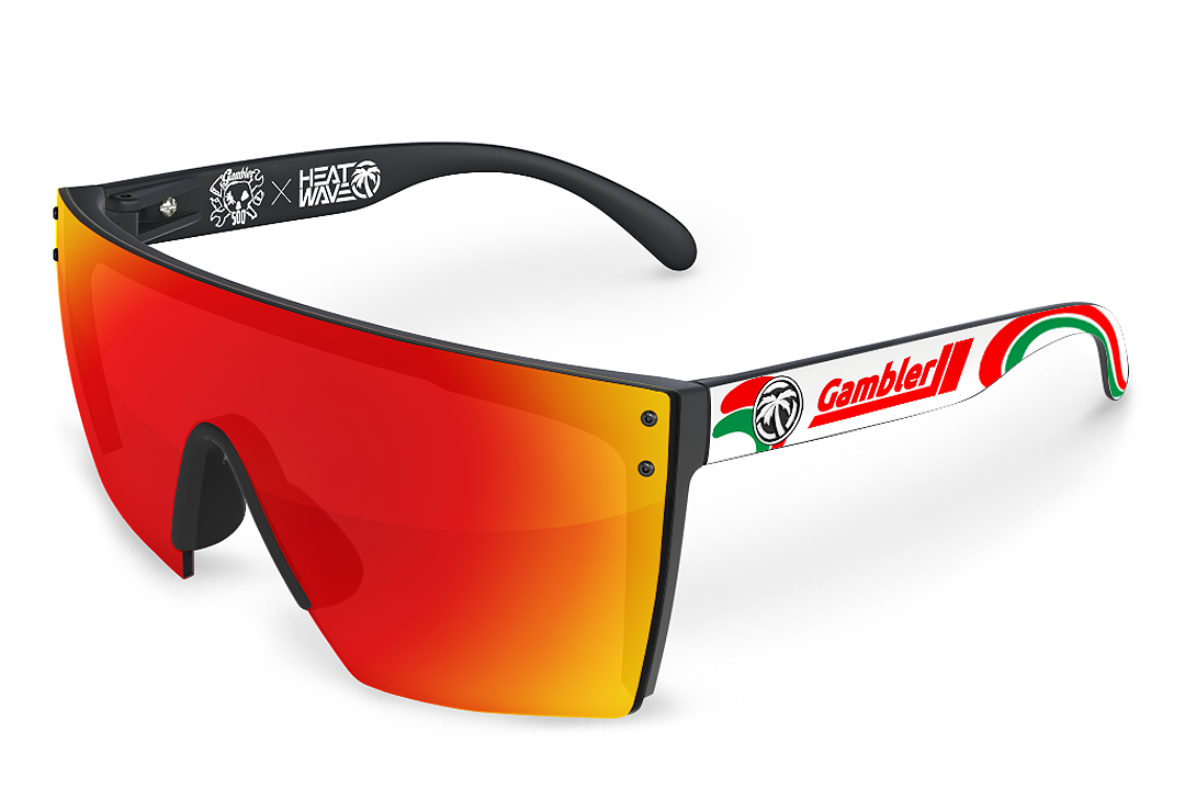 Lazer Face Sunglasses: 2020 Gambler 500 Limited Edition
