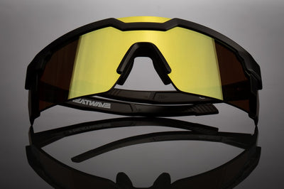 Future Tech Sunglasses: Gold Z87+