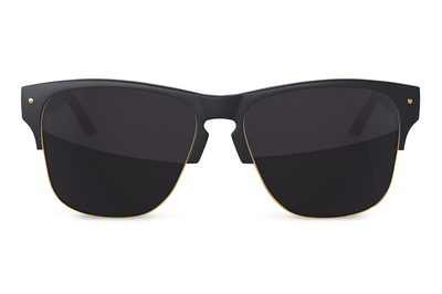 Roswell Sunglasses: BLACK/GOLD