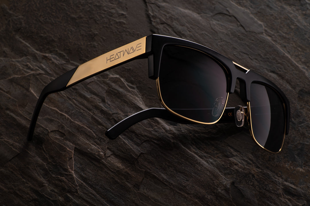 Interceptor 2.0 Sunglasses: BLACK/GOLD