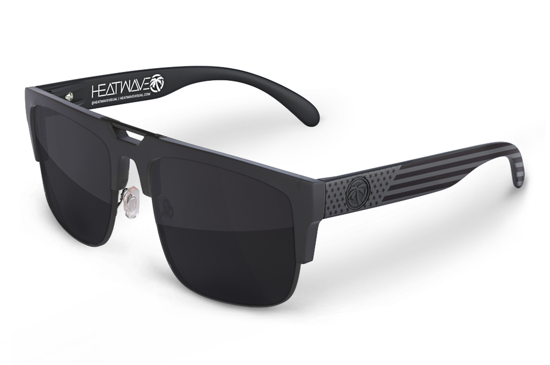 Interceptor 2.0 Sunglasses Black: Stars and Stripes SOCOM Customs