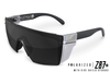 Lazer Face Sunglasses: Black Z.87