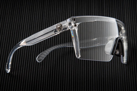 Lazer Face Glasses: CLEAR Z.87+