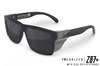 XL VISE Z87 Sunglasses: BLACK