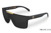 Quatro Sunglasses: BLACK/GOLD