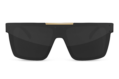 Quatro Sunglasses: Woodgrain Customs
