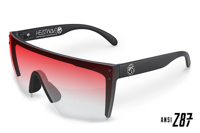 Lazer Face Sunglasses: Resort Red Lurk Z.87