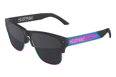 Rockwell Sunglasses: BLACK/NEON