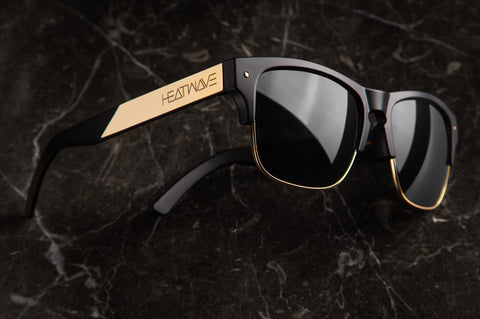 Rockwell Sunglasses: BLACK/GOLD