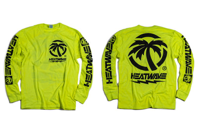 Heat Wave HI-VIS Bolt Long Sleeve T-Shirt