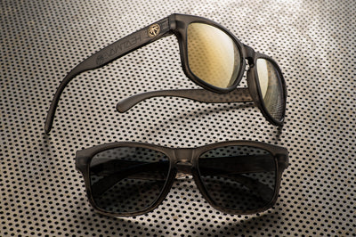 Cruiser Sunglasses: Frosted Smoke