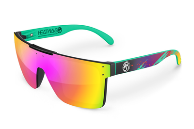 Quatro Sunglasses: Aqua Splash Customs