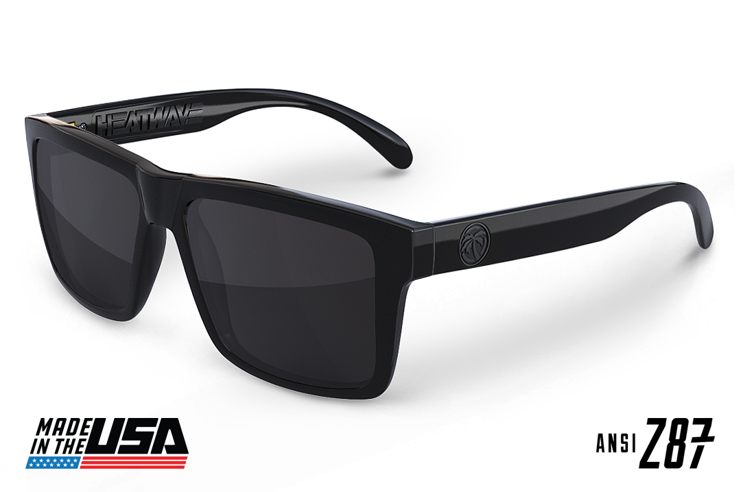 USA VISE Sunglasses: GLOSS BLACK
