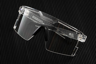 Future Tech Sunglasses: Vapor Clear Frame Clear Lens Z87+