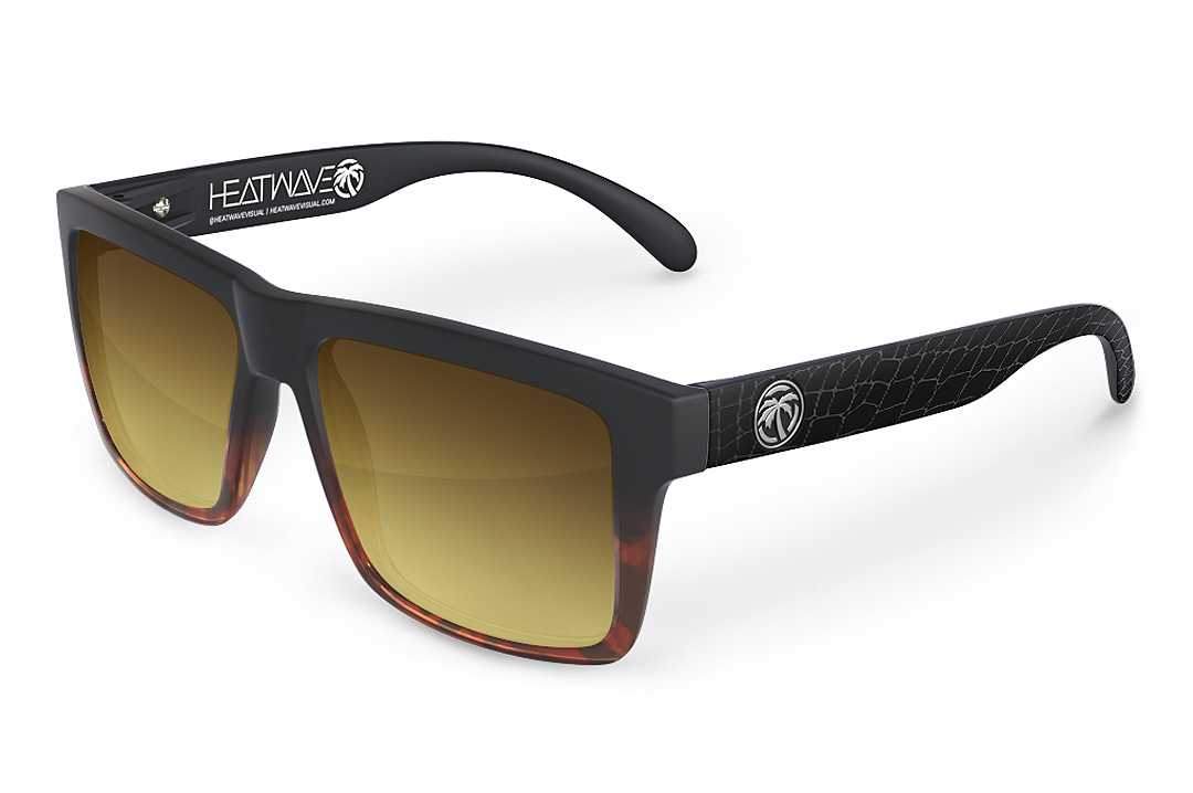 VISE Sunglasses: Everglade Fade Crocodile Customs