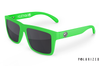 VISE Sunglasses: Moto Green