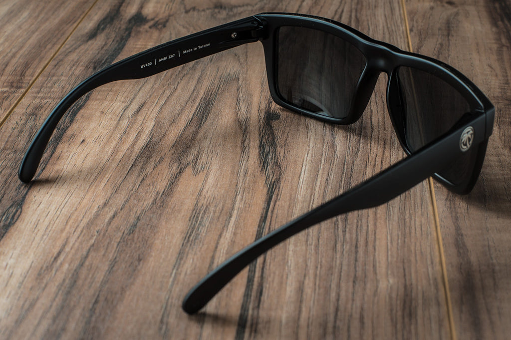 VISE Z87 Sunglasses: BLACK